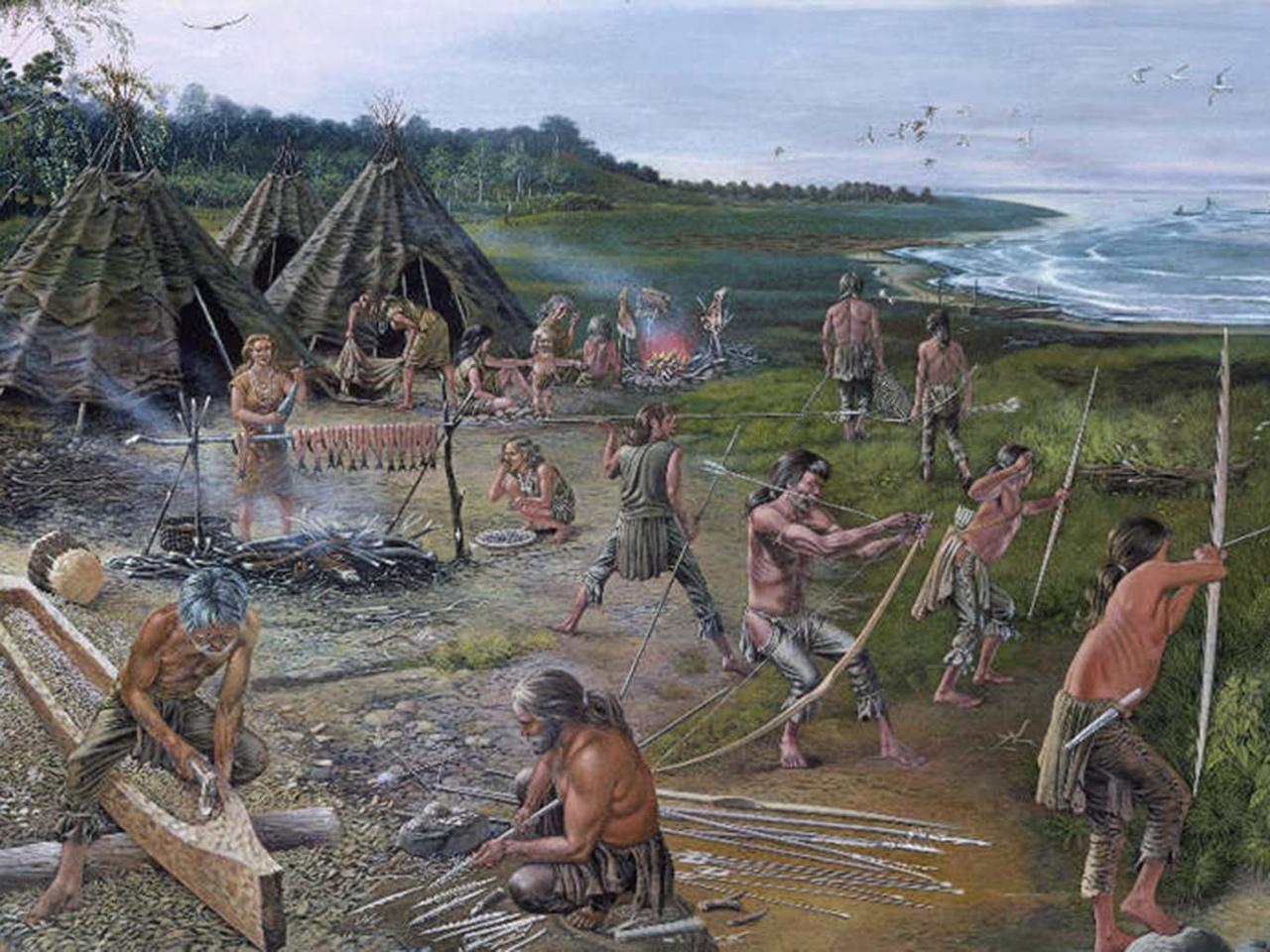 Древние времена картинки люди